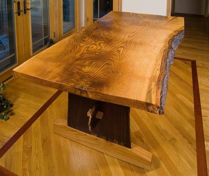 Custom Live edge Wood