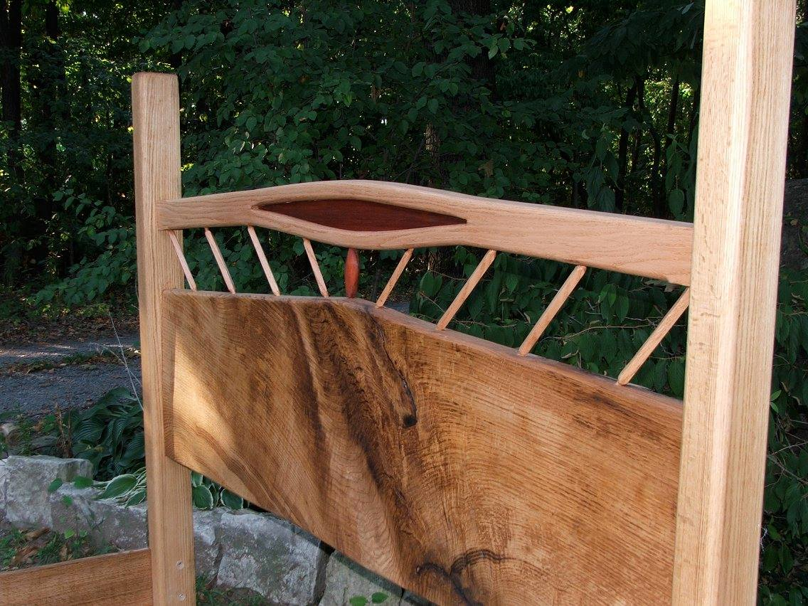A solid wood bed frame made in all sizes!